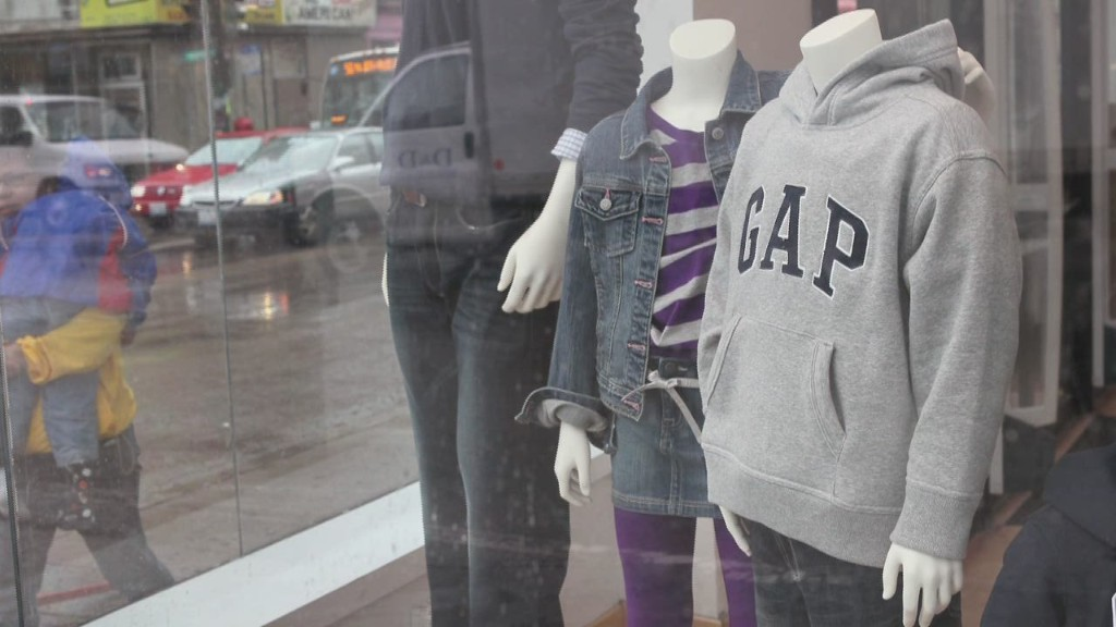 Mind The Gap: Stock plummets as CEO departs