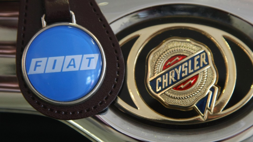 Fiat Chrysler revs it up on Wall Street
