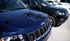 Chrysler recalls 184,000 SUV's with airbag problem