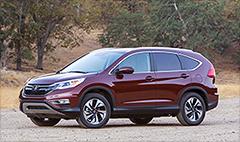 Honda CR-V named SUV of the Year