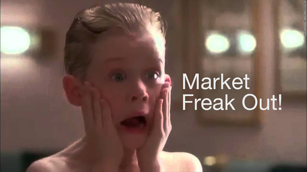 market freak out