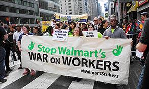 Walmart workers vow big protests