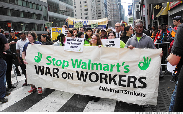 Walmart workers vow Black Friday protests