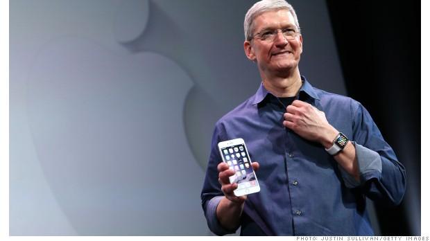 Apple profit soars on huge iPhone, Mac sales