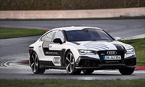 Driverless Audi hits 140 mph