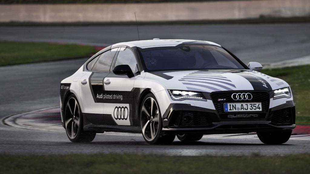Audi's driverless racecar