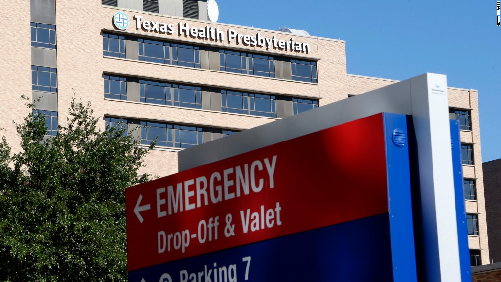 Patients shun Dallas hospital hit by Ebola