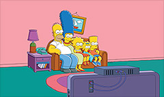 'Simpsons' go streaming