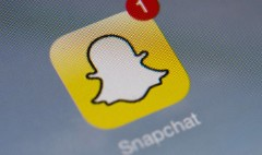 Snapchat scares up its first ad