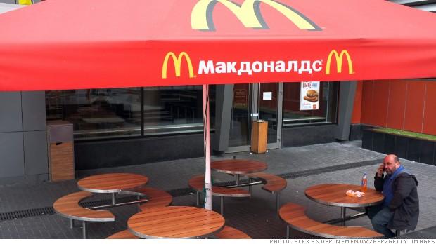Russia's crusade to banish McDonald's