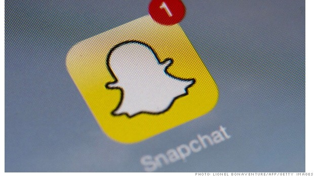 Snapchat, valued at $10 billion, has started showing ads