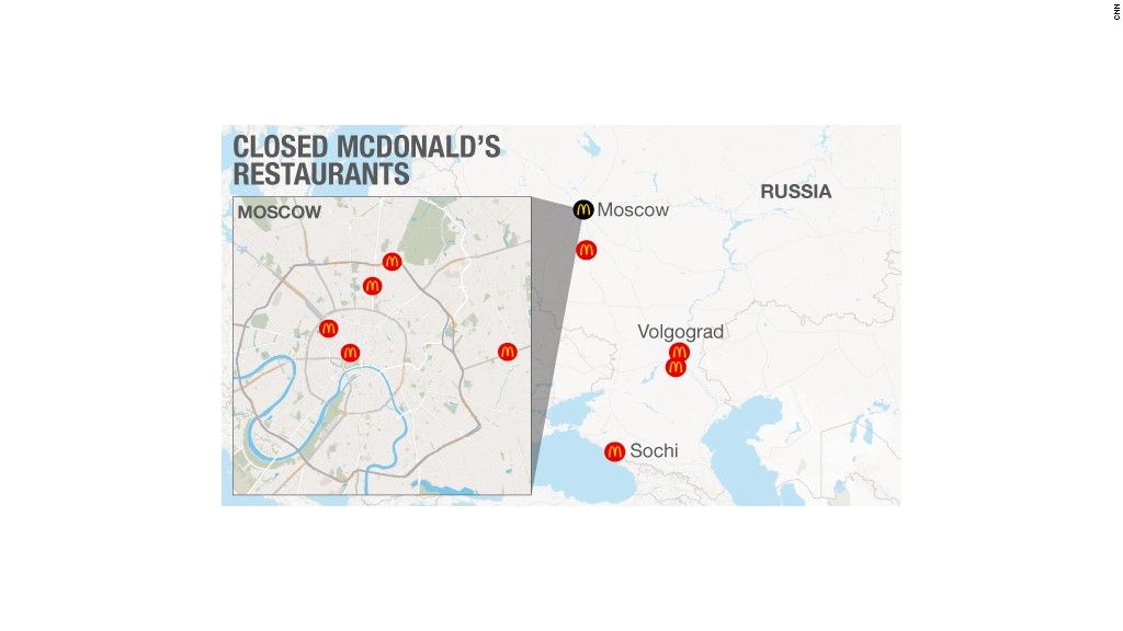 Closed McDonald's