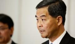 Hong Kong leader warns poor would dominate a free vote