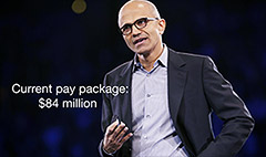 Microsoft CEO: Women paid equally here