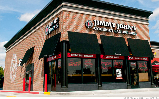 Jimmy's Johns under fire for worker contracts
