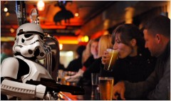 Lucasfilm strikes back over beer