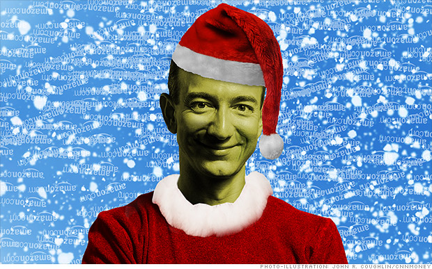 Bezos: The Grinch that stole Amazon's Xmas