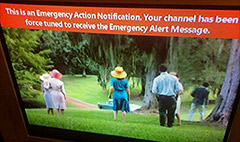 Cable users startled by 'Emergency Alerts'