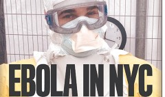 NYC tabloids keep a straight face on Ebola
