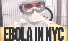 NYC tabloids keep a straight face on Ebola