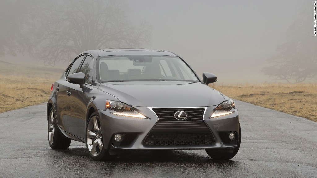 luxury compact cars lexus is 350 sedan most reliable cars consumer reports cnnmoney. Black Bedroom Furniture Sets. Home Design Ideas