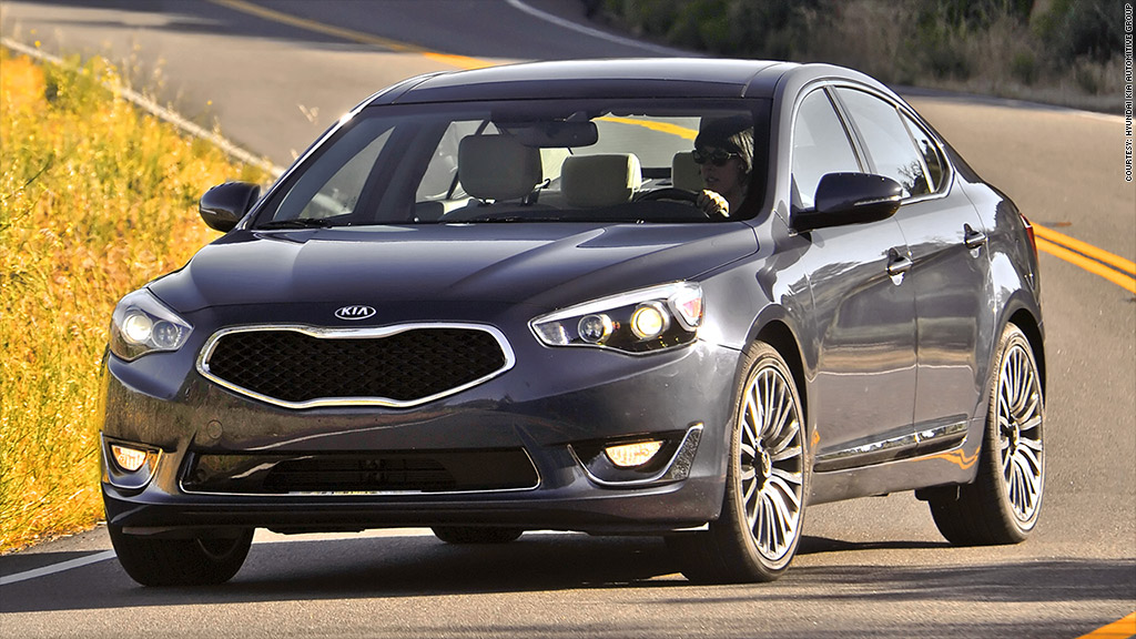 large cars kia cadenza most reliable cars consumer reports cnnmoney. Black Bedroom Furniture Sets. Home Design Ideas