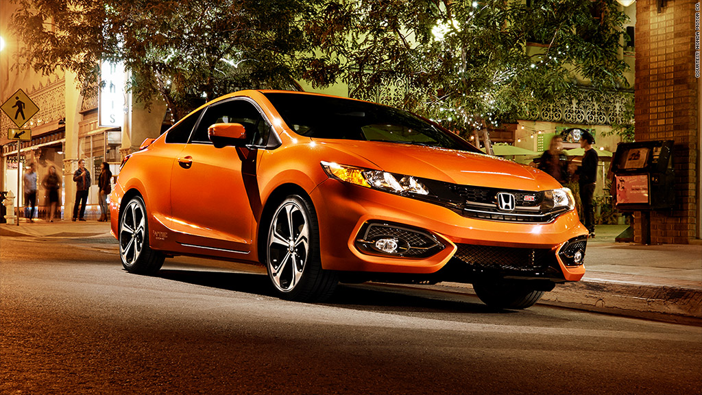 sporty cars honda civic si most reliable cars consumer reports cnnmoney. Black Bedroom Furniture Sets. Home Design Ideas