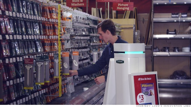 Shopping? The robot will help you now