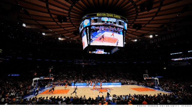 Madison Square Garden to explore split Money Watch