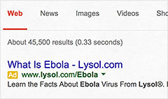 Lysol flooded with Ebola questions
