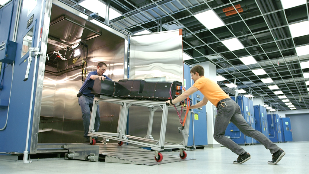 Inside the Chevy Volt battery lab
