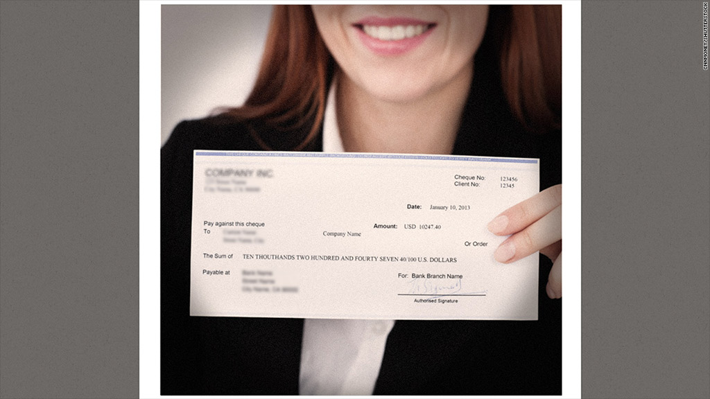 first paycheck fraud