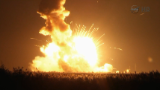 Rocket explodes on space station resupply mission