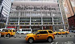 New York Times shares slammed on grim forecast
