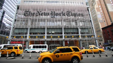 New York Times touts subscriber growth with a jab at Trump