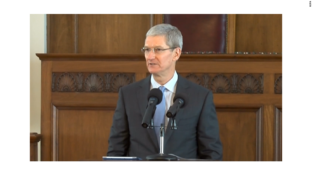 Tim Cook's push for LGBT equality