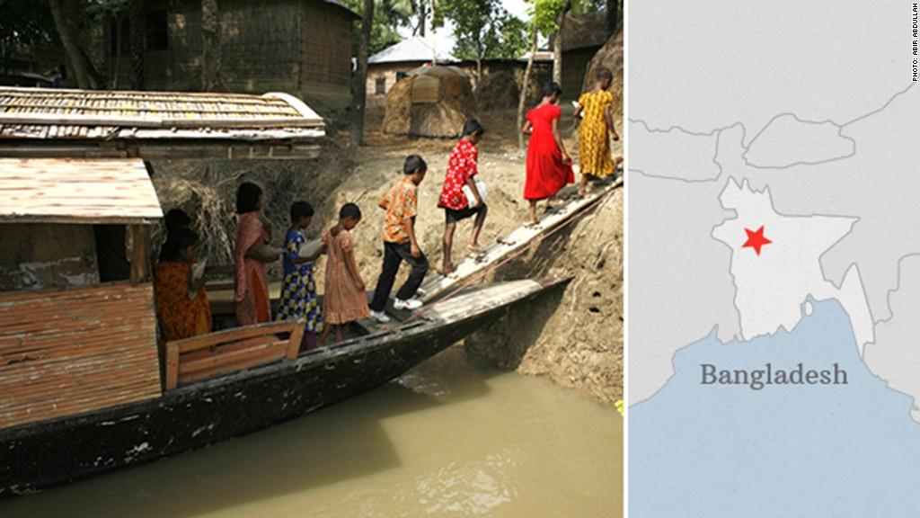 global innovation bangladesh map
