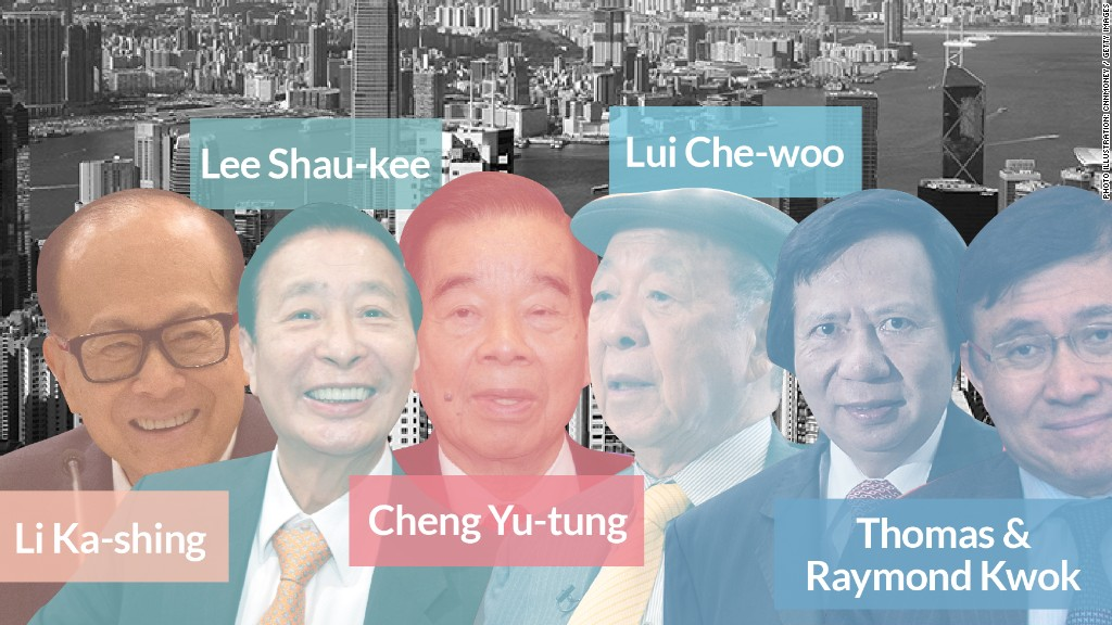 hong kong tycoons top