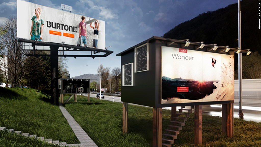 billboards for homeless main