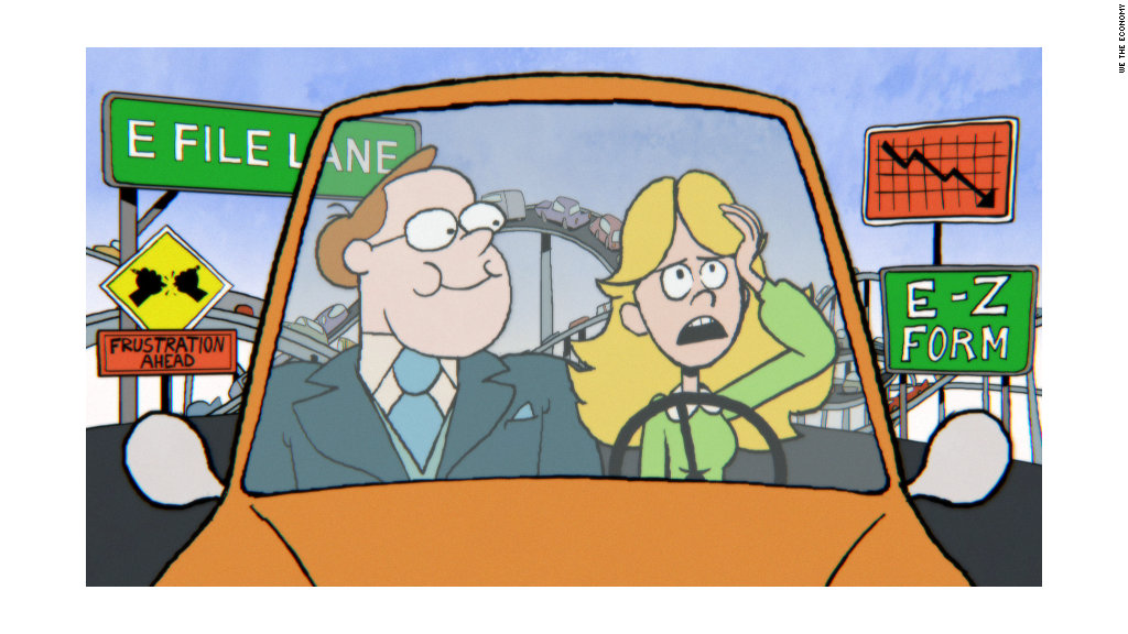Catchy 'toon' navigates the tax highway