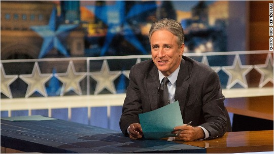 Jon Stewart answers big 'Daily Show' questions