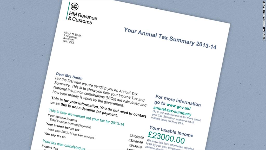 personal tax summary