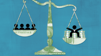 Record inequality: The top 1% controls 38.6% of America's wealth