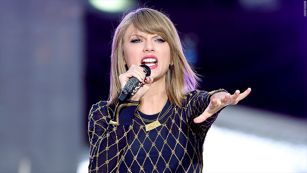 Spotify's Sean Parker: Taylor Swift 'defies gravity'