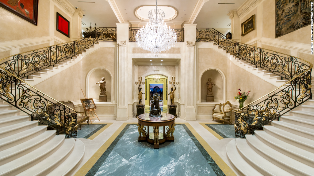 America 39 s most expensive home for sale 195 million for Interieur villa de luxe