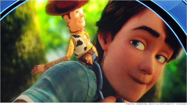 Toy Story Money Money Money : Disney earnings up as company has record year nov