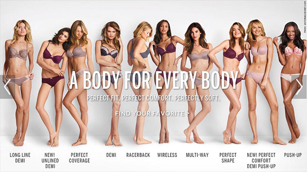 victorias secret perfect body slogan