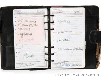 iconic madonna memorabilia planner
