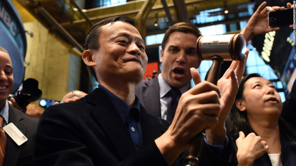 Alibaba Jack Ma retail stocks