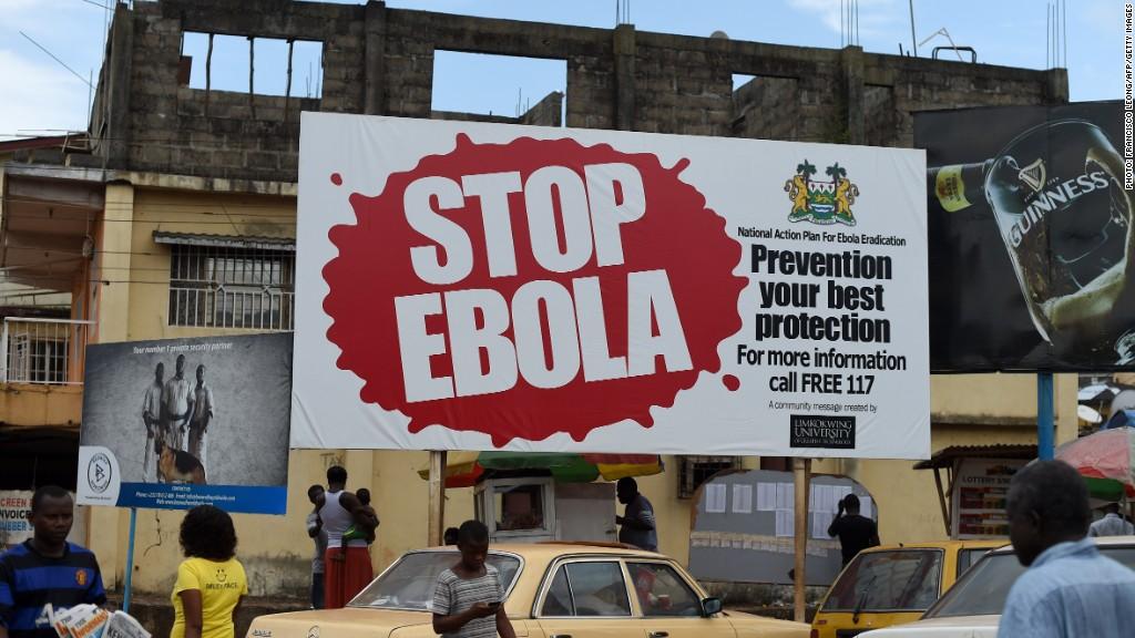 google ebola donations